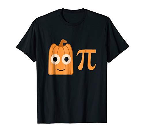 Funny Pumpkin Pi Tshirt for Fall, Halloween & Thanksgiving