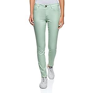 oodji Ultra Women's Basic Slim-Fit Jeans