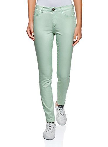 Fit Verde Slim Ultra Oodji 6000n Donna Jeans Basic xnUC6v