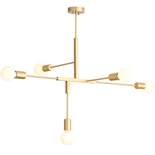 5 Arm Pendant Ceiling Light