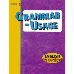 Grammar and Usage: Level 4 (English in Context)