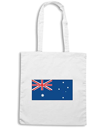 Speed Shopper AUSTRALIA Shirt Borsa WC0029 Bianca wfrf8q