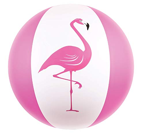 "Kangaroo Beach Balls; 27"" Jumbo Pink Flamingo Beach Ball"