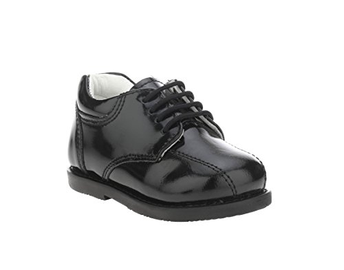 Liberty Footwear Kids Gliders Genuine Leather Toddlers School Uniform Walking Dress Shoes - Burnished Kid Footwear