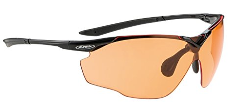 Alpina Splinter Vl Sunglasses /White Frame Varioflex Orange Lenses S1 2 (Unisex-rahmen)
