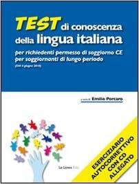 Amazon.it: Test di conoscenza della lingua italiana per richiedenti ...