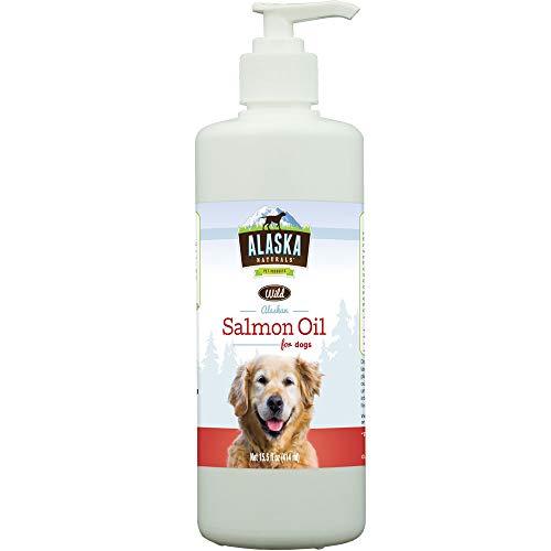 (Alaska Naturals Wild Alaskan Salmon Oil Natural Dog Supplement 15.5 ounce)