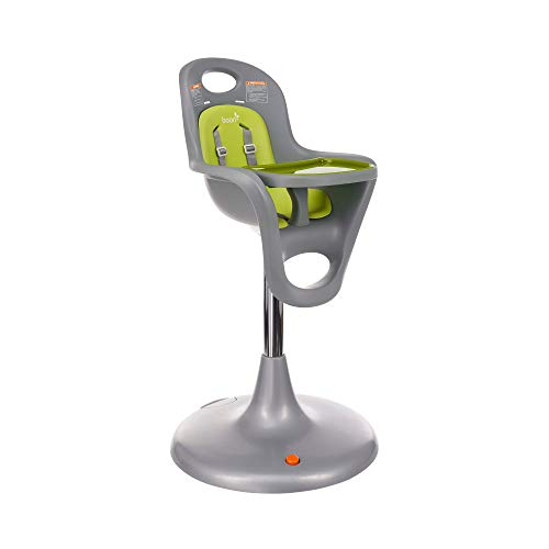 Boon Flair Pedestal High Chair,Gray/Green