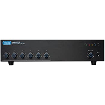 atlas sound aa120 120 watt six input mixer. Black Bedroom Furniture Sets. Home Design Ideas