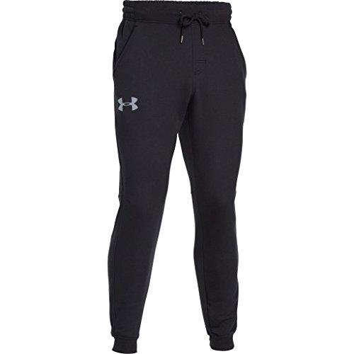 Rival Cotton Jogger Men's Trousers, Black / Steel (001), Small