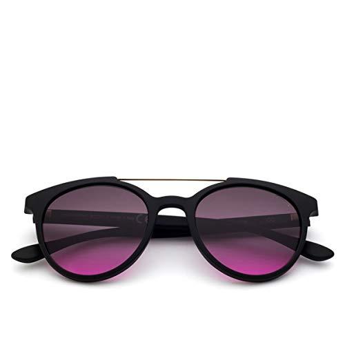 (Saraghina | Sunglasses Gerry B Black Black Bi-Smoked Lens Grey Purple | SAR_GERRY B BLACK-115CC - DA SOLE)