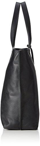 Timberland Tb0a1b2y - Shoppers y bolsos de hombro Mujer Negro (Nearly Black)