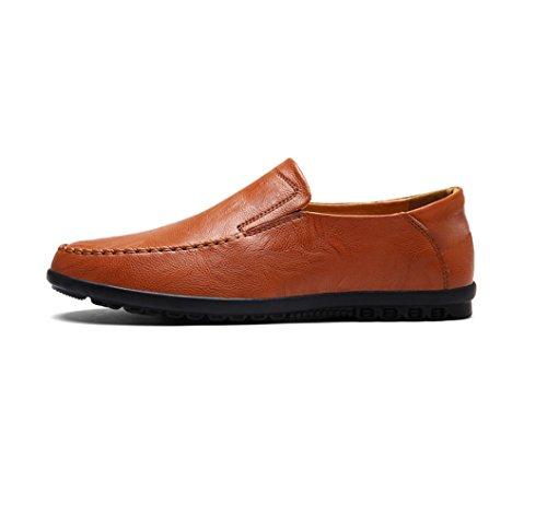 Hommes Occasionnels Chaussures Business Chaussures Printemps Eté Automne Hiver Cool Off Femmes Vache Conseil D'affaires Slipy Yellow 6wfOQFFr
