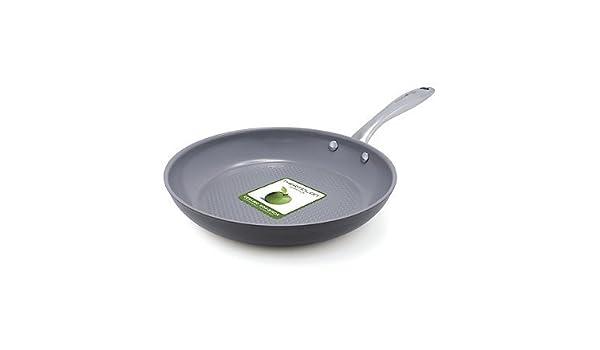 GreenPan Lima 3d Love Fish & verduras 25,4 cm anodizado duro antiadherente sartén de cerámica: Amazon.es: Hogar