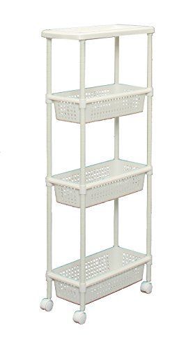 China Laundry / Kitchen Cart for Narrow Space, MKW-4S