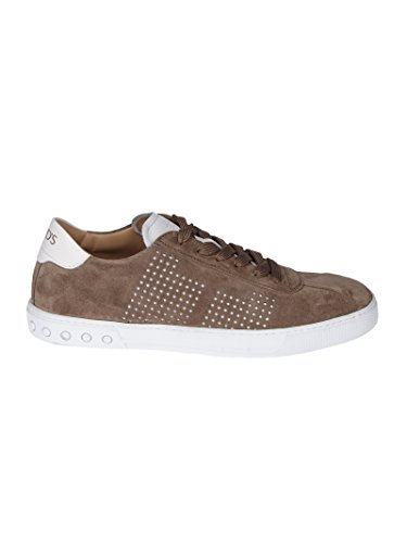 Camoscio Marrone Tod's Uomo Sneakers XXM0XY0X990EYD56FF OaaIt