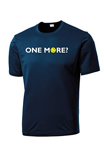 Dinkers & Bangers One More? - Mens Pickleball Performance Tee
