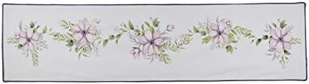 Donna Sharp Valance – Forget Me Not Contemporary Decorative Window Treatment with Multicolored Pattern