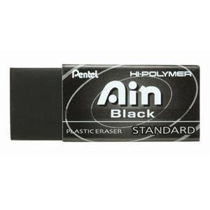Pentel Hi-Polymer Block Eraser, Small Black 48 pack (ZEAH06A)