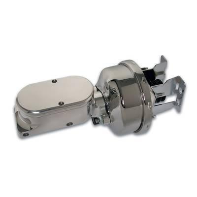 """SSBC A28142CB-4 7"""" Chrome Booster/Billet Aluminum Master Cylinder"""