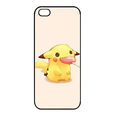 Custom Colorful Paint Pokemon Cartoon Characters Thin Flexible Plastic Cover Case for iPhone 5C, iPhone 5C Ultra Thin Cell Phone Casing For Teen (Iphone 5c Cases Of Mice And Men)