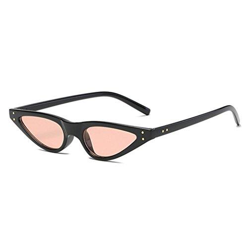 TOOPOOT 2018 Vintage Retro Unisex Eyes Shades Sunglasses Polarized Metal Frame Outdoor (C)