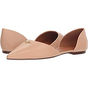 Coach Womens Leather Pointy Toe Flat