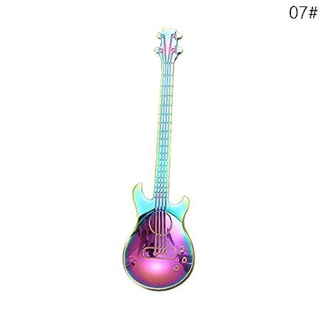 ADSIKOOJF 1 Piezas Cuchara de Guitarra de Dibujos Animados de ...