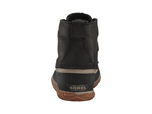 Sorel Mujeres Out N About Bota Impermeable De Cuero Negra.