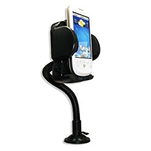 360 Degree Rotatable Car Windshield Holder Suction Mount with Air Vent Attatchment for Motorola I1