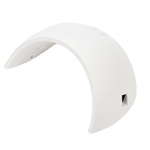 24W USB LED UV Nail Gel Curing Lamp Light, Nail Gel Polish Dryer Nail Art Machine