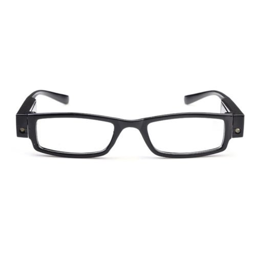 Rimmed Reading Eye Glasses Eyeglasses With LED Light - China Versace Fake