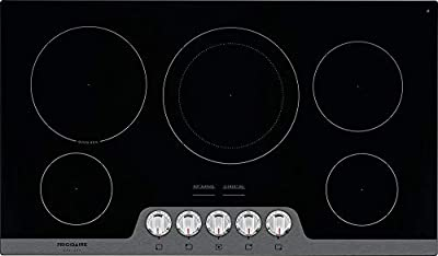 Frigidaire FGEC3648US Gallery Series 36 Inch Electric Smoothtop Cooktop in Stainless Steel