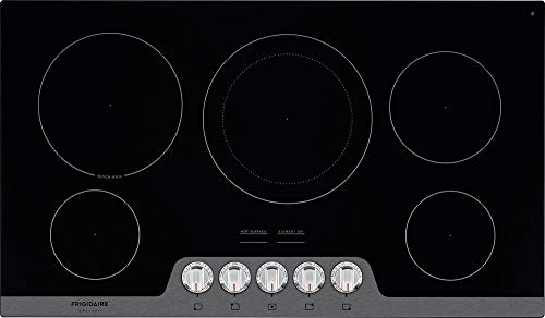 stainless steel electric cooktop - 5