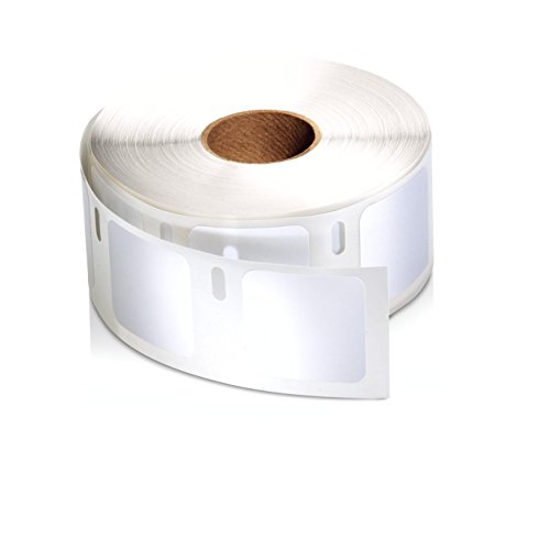 DYMO LW Square Multi-purpose Labels for LabelWriter Label Printers, White, 1'' x 1'', 1 roll of 750 (30332)