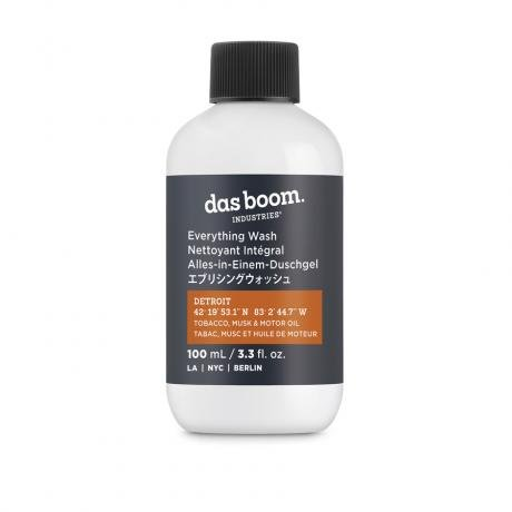Das Boom Industries Detroit (Tobacco, Musk & Motor Oil) Wash Travel Size