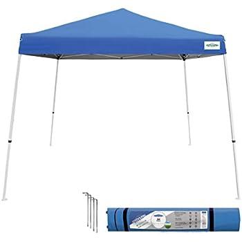 Amazon Com Caravan Canopy Sports 21007800020 10x10 Blue