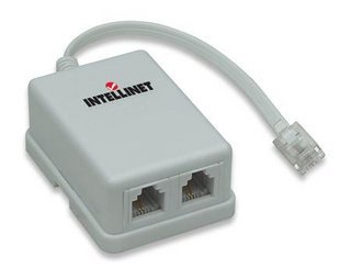 Filter Modem (Intellinet Networks Adsl Modem Splitter/Adapter (201124))