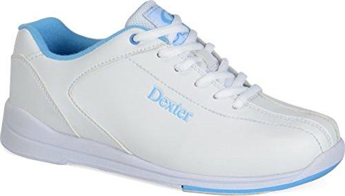 Dexter Women's Raquel IV Bowling Shoes, White/Blue, 6.5 by Dexter