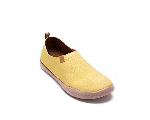 Pour Peintes Chaussures Femme De Sportives Toiles Jaune Tamago Uin CX6qwxv7q
