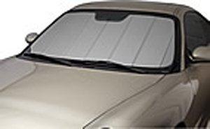 Covercraft UVS100 - Series Heat Shield Custom Windshield Sunshade for Jeep Grand Cherokee (Laminate Material, Silver)