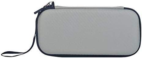 SzKing イヤホンケーブルゲームカードEVAハードケースのための新しい防水バッグ任天堂のためのスイッチライトポータブルミニバッグは、任天堂のスイッチをフィット ホット (Color : Grey)