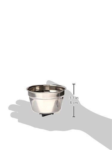 Lixit Animal Care Lixit Radical Steel Stainless Steel Crock, 10-Ounce by Lixit Animal Care (Image #2)