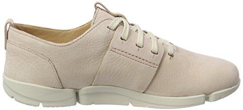 Clarks Damen Tri Caitlin Sneaker Pink (Nude Pink)