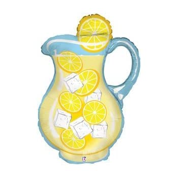 Single source party supplies 33 lemonade for Lemon shaped lemonade stand