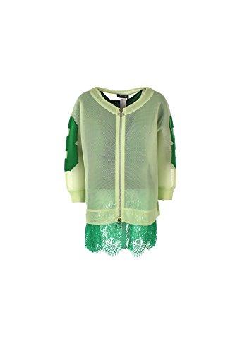 Felpa Donna Twin-set XS Verde Ps7224 Primavera Estate 2017
