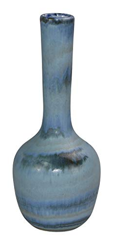 Royal Haeger Pottery Art Deco Blue Bud Vase for sale  Delivered anywhere in USA