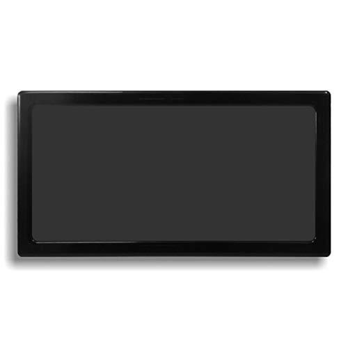 DEMCiflex Dust Filter for NCASE M1 Version 1, Bottom, Black Frame/Black Mesh (Best Air Cooler For Ncase M1)