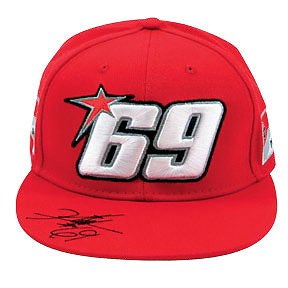 New Official Nicky Hayden 69 Flat Peak Ducati Course Hat L-XL ... 2c099b606708