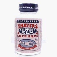 Thayers скользкий вяз пастилки Cherry без сахара 100 LOZ